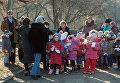 В ЛНР почтили память детей, погибших вследствие военных действий в Донбассе