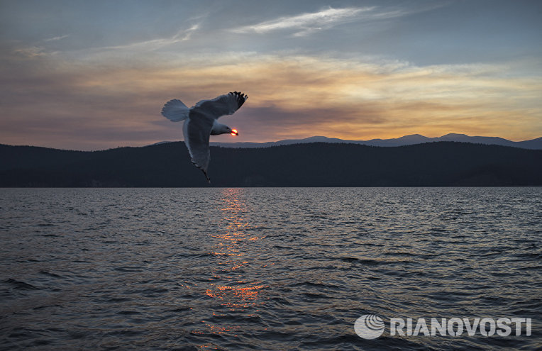Ушканьи острова на озере Байкал