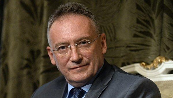 Чрезвычайный и полномочный посол РФ в Сирийской Арабской Республике Александр Кинщак