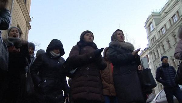 Валютные ипотечники на акции в Москве. Архивное фото