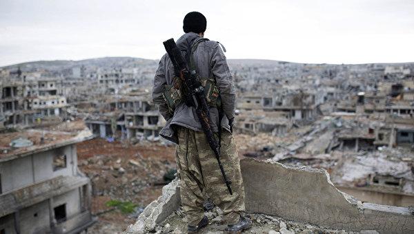 Сирийский курдский снайпер. Архивное фото