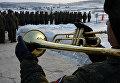 Соревнования по Танковому биатлону на Сергеевском полигоне