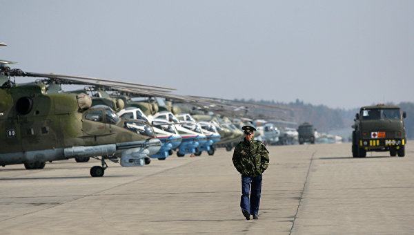 Аэродром в Кубинке. Архивное фото