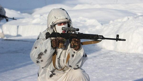 Снайперы Западного военного округа. Архивное фото
