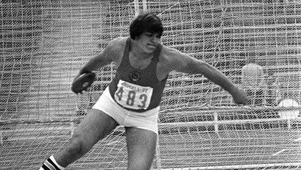 Советский легкоатлет Юрий Думчев. Архивное фото.