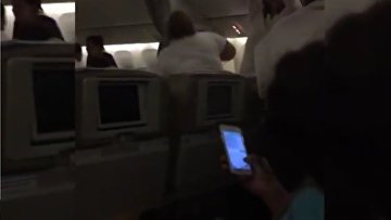 Эвакуация пассажиров российского Boeing в Доминикане. ВИДЕО