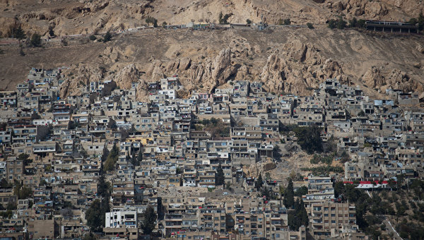 Лагерь беженцев в Дамаске