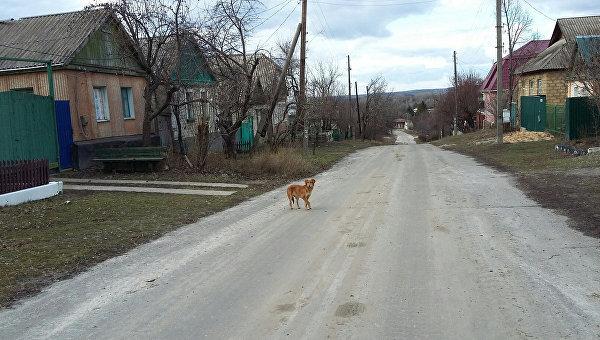 Населенный пункт Веселая Гора (ЛНР). Архивноео фото