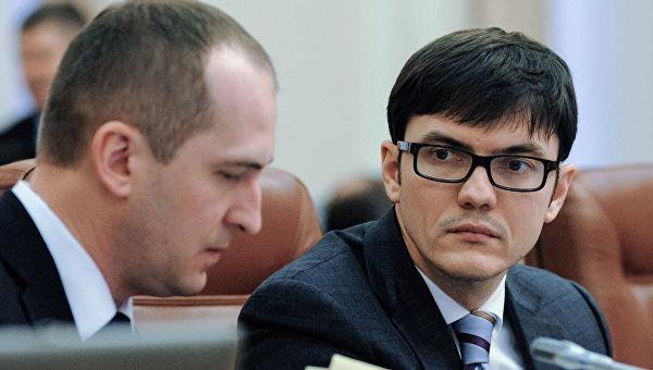 Министр инфраструктуры Украины Андрей Пивоварский. Архивное фото