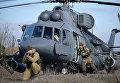 Учения мотострелковых войск на полигоне Серноводский