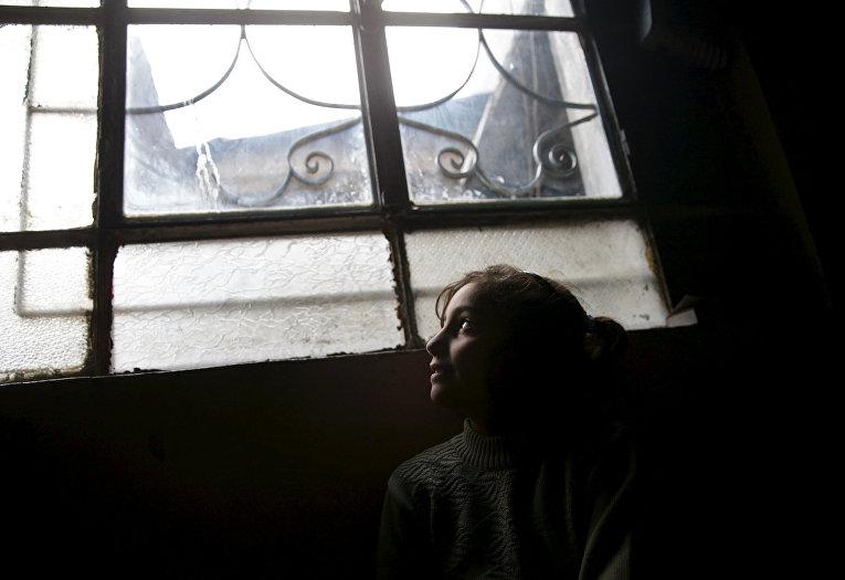 Дочь Шахрура в городе Ирбин, Сирия