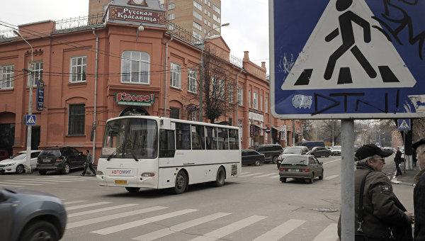 Автобус в Подмосковье. Архивное фото