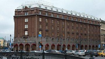 Здание гостиницы Астория в Санкт-Петербурге. Архивное фото