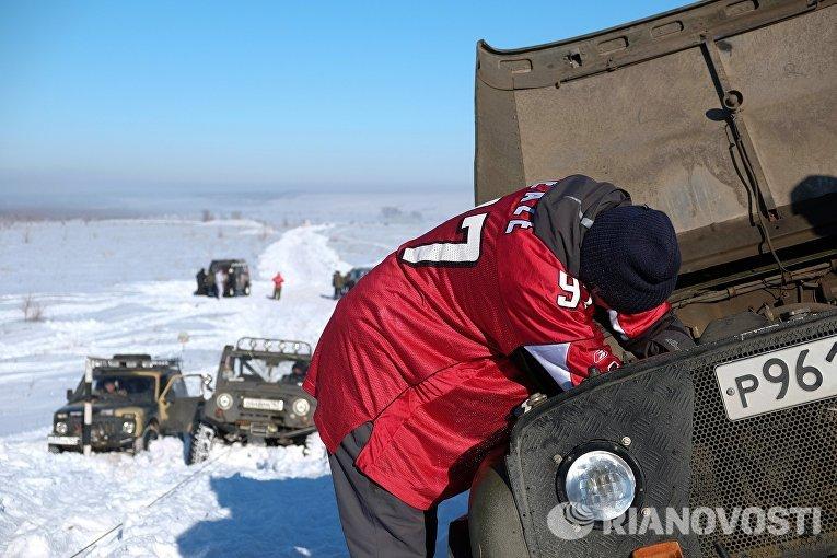 Спортивно-туристическое мероприятие Снежный беспредел
