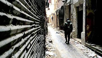 Сирийский город Алеппо. Архивное фото