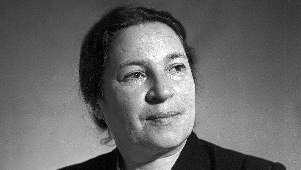 Поэтесса Агния Барто. Архивное фото