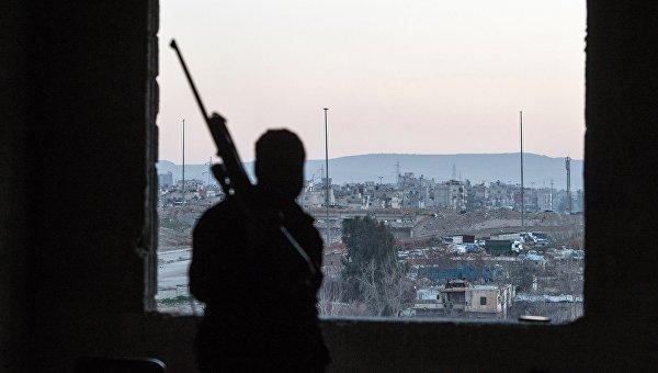 Район Дамаска. Архивное фото