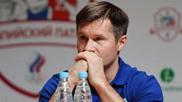 Четырехкратный олимпийский чемпион по спортивной гимнастике, главный редактор журнала Большой спорт Алексей Немов