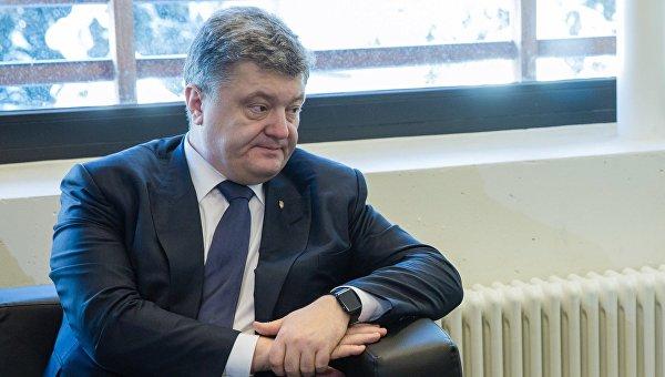 Президент Украины Петр Порошенко. Архив