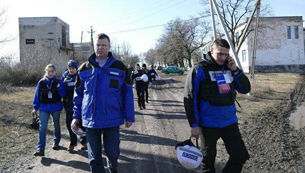 Первый заместитель главы специальной мониторинговой миссии Организации по безопасности и сотрудничеству в Европе (ОБСЕ) на Украине Александр Хуг. Архивное фото