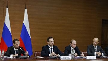 Премьер-министр РФ Д. Медведев провел заседание правительственного совета по развитию кинематографии
