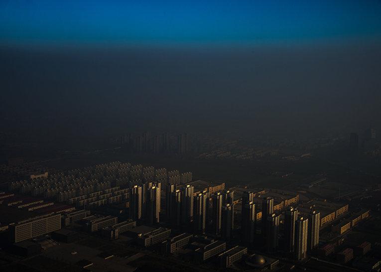 Мгла в Китае. 10 декабря 2015. Чжан Лэй