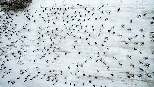 Лыжный спорт. Архивное фото