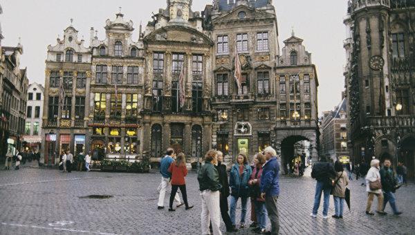 Главная площадь Брюсселя. Архивное фото