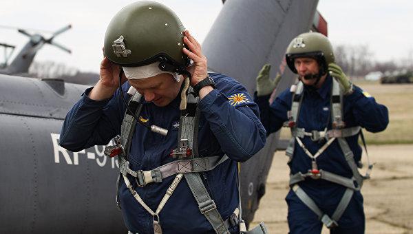 Летчики Южного военного округа. Архивное фото