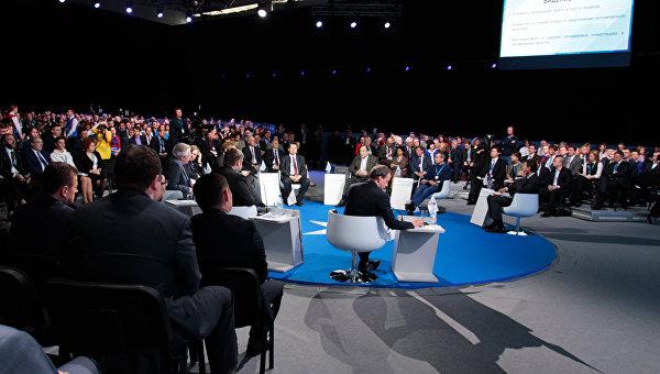 Красноярский экономический форум Россия: Стратегия 2030. День второй. Архивное фото