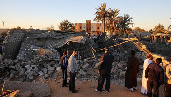 Последствия авиаударов США по позиция ИГ в Ливии
