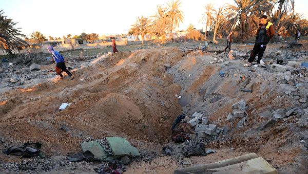 Съемочная группа RT попала под минометный обстрел в Ливии