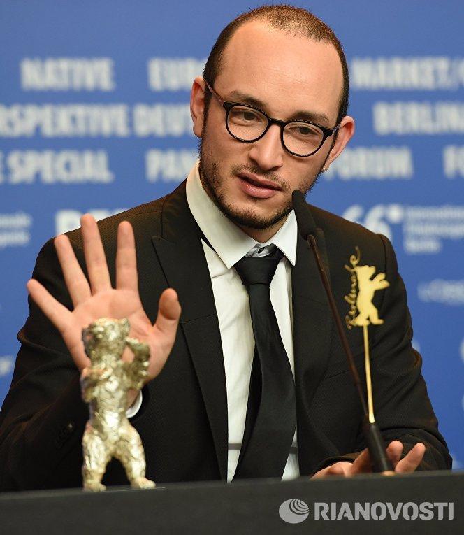 Актер Маджид Мастура, получивший награду Берлинале за лучшую мужскую роль в фильме Хеди