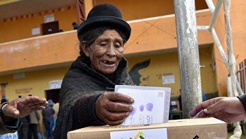 Референдум по конституционной реформе в Боливии