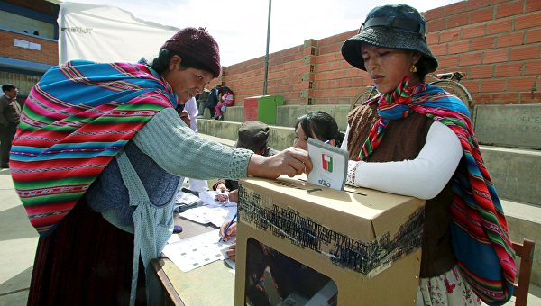 Голосование на референдуме в Боливии, 21 февраля 2016