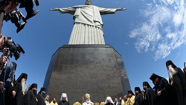 Визит патриарха Кирилла в Бразилию