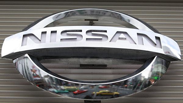 Логотип компании Nissan. Архивное фото