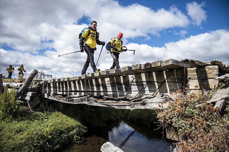 Экстремальная гонка Patagonian Expedition Race в Патагонской области Чили