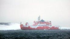 Австралийский ледокол Aurora Australis. 26 февраля 2016