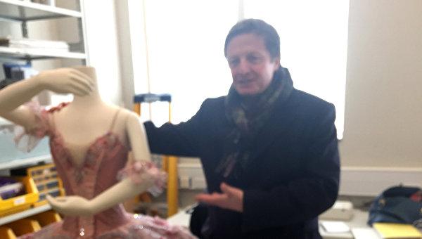 Глава Королевского театра оперы и балета Алекс Бирд