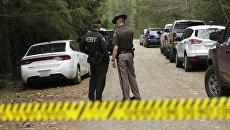 На месте убийства пятерых человек в США