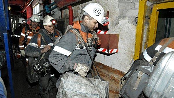 Горноспасатели в шахте Северная в Воркуте. Архивное фото