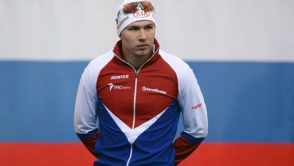 Российский конькобежец Павел Кулижников. Архивное фото