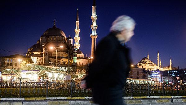 Новая мечеть в Стамбуле, Турция