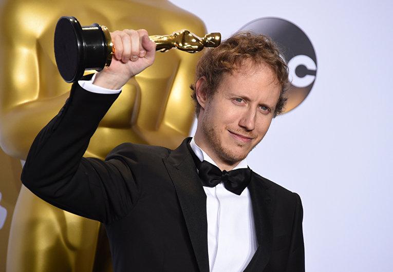 Режиссер Ласло Немеш на 88-й церемонии вручения премии Оскар в Голливуде