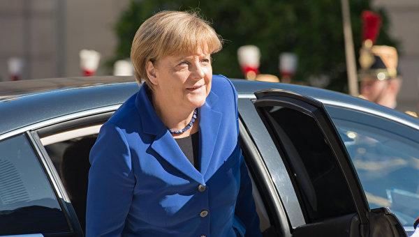 Меркель: ДействияРФ вгосударстве Украина привели кпотере доверия Запада