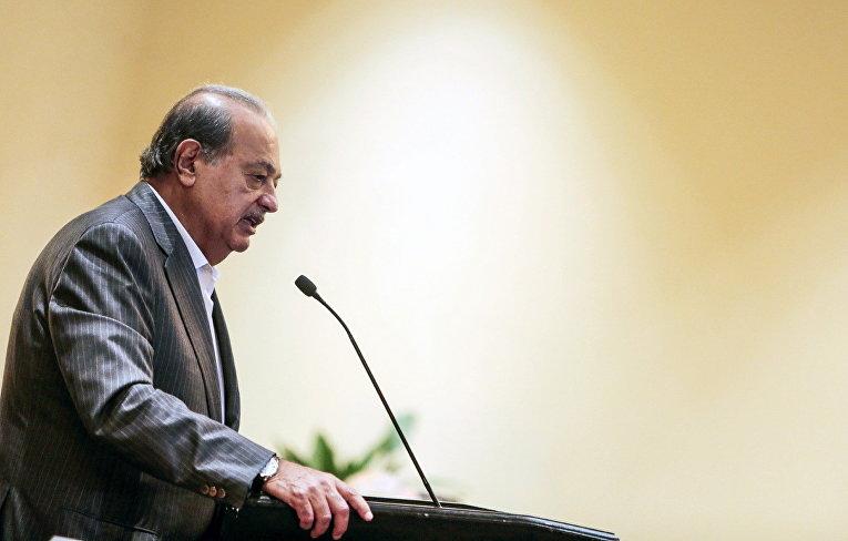Мексиканский бизнесмен арабского происхождения Карлос Слим Элу