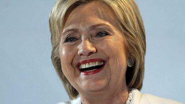 Кандидат в президенты США от демократов Хиллари Клинтон на праймериз во Флориде