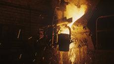 В цехе точного стального литья. Архивное фото