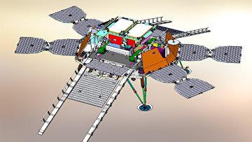Посадочная платформа для марсохода Пастер, создаваемая ИКИ РАН и НПО им. Лавочкина